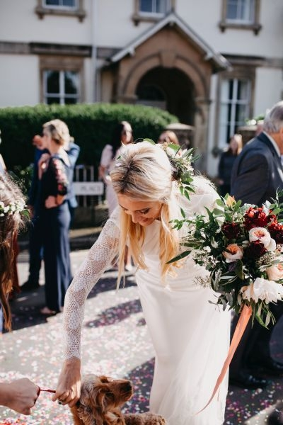 Bride's hand tied bouquet