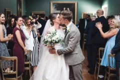 Bride-groom-ceremony-bouquet