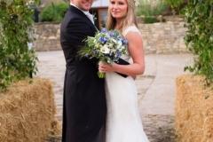Wedding flowers arch