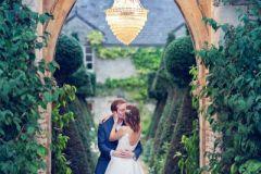 Bride & Groom - Euridge Manor - Kate Hopewell-Smith image credit