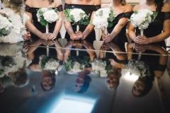Bridesmaid hydrangea posies