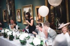 Top table wedding flowers. Hydrangea & eucalyptus cubes