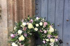 Funeral Wreath - mixed flowers