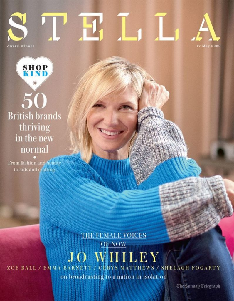 Front cover The Sunday Telegraph Stella Magazine